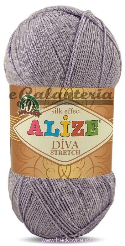Alize Diva stretch - 158 - lila