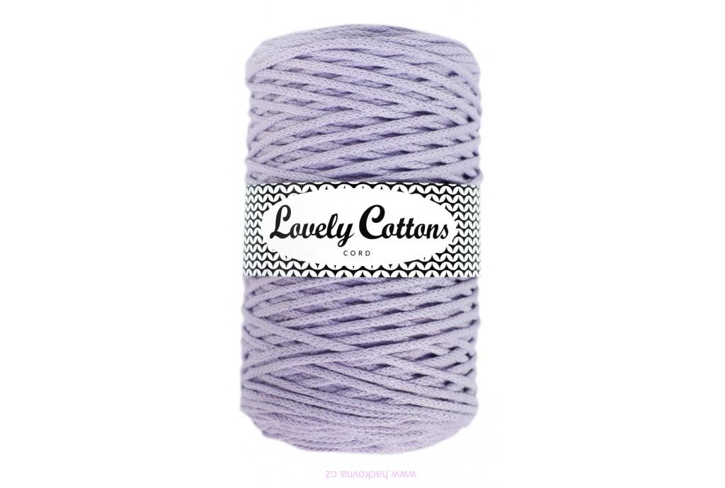 Šňůra Lovely Cottons - lila - 5mm/100m