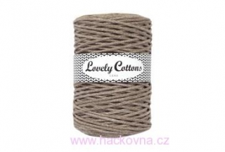 Šňůra Lovely Cottons - latte 3mm/200m