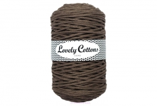 Šňůra Lovely Cottons - mokka - 3mm/200m
