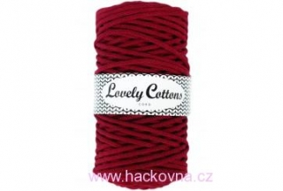 Šňůra Lovely Cottons - bordó 3mm/200m