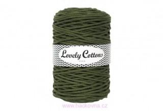 Šňůra Lovely Cottons - khaki - 3mm/200m